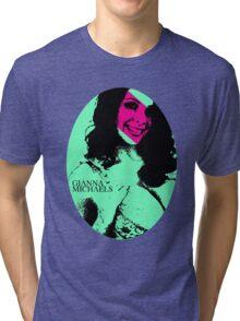 Punk P*rnstars - Gianna in Green Tri-blend T-Shirt