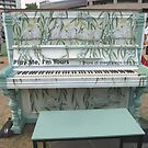 Chinese Painting on Piano - Play Me, I'm Yours by Thanh Duong