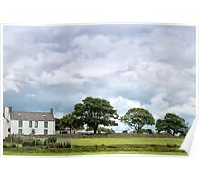 Holy Island View Poster