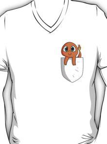 Pocket Monsters: Charmander in my Pocket V2 T-Shirt