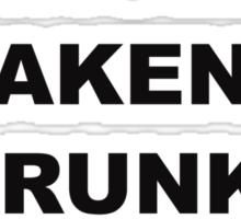 Single Taken Drunk Sherlock Sticker