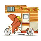 Runaway bear by Laura  Wood