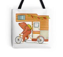 Runaway bear Tote Bag
