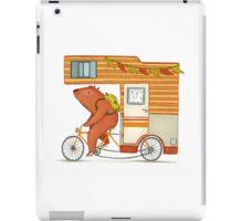 Runaway bear iPad Case/Skin