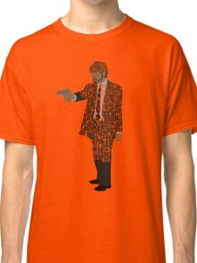 Jules from Pulp Fiction Typography Quote Design Classic T-Shirt