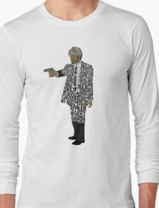 Jules from Pulp Fiction Typography Quote Design Long Sleeve T-Shirt