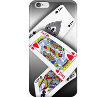 Smartphone Case - Ace King Queen - Metallic iPhone Case/Skin