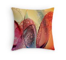 Spoons in water Throw Pillow