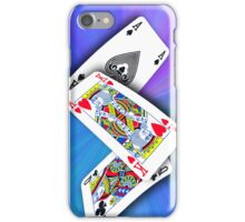 Smartphone Case - Ace King Queen - Blues iPhone Case/Skin