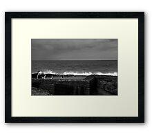 The Rock Pool Framed Print