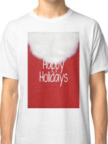 Happy Holidays Santa Beard Classic T-Shirt