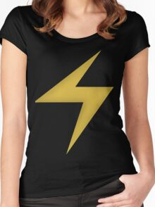 Ms.Marvel Symbol Women's Fitted Scoop T-Shirt