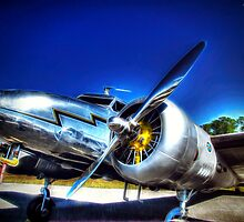 Lockheed Electra L-12 Junior by Noble Upchurch