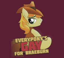 Gay for Braeburn Shirt (My Little Pony: Friendship is Magic) by broniesunite