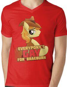 Gay for Braeburn Shirt (My Little Pony: Friendship is Magic) Mens V-Neck T-Shirt
