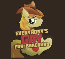 Gay for Braeburn Shirt (My Little Pony: Friendship is Magic) by broniesunite
