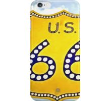 Route 66 Pop Art iPhone Case/Skin