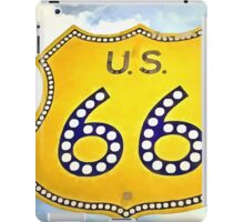 Route 66 Pop Art iPad Case/Skin