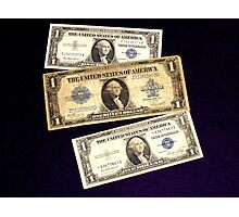 The Ever Changing One Dollar Bill - Photographic Print