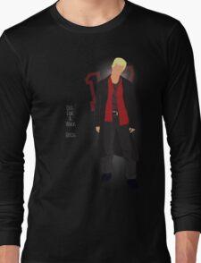 Hostile 17 Quote Long Sleeve T-Shirt