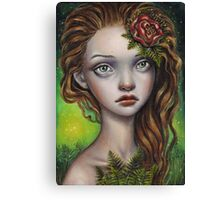 Fern Flower Canvas Print