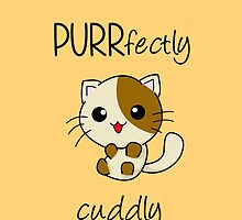 PURRfectly cuddly! ^.^ by charsheee