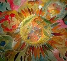 sun in flower 11 by Gea Austen