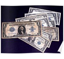 The Ever Changing One Dollar Bill - Poster