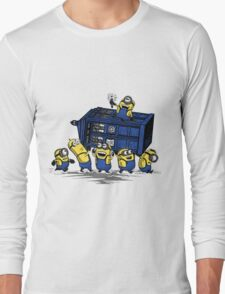 Minions Invented Tardis Long Sleeve T-Shirt