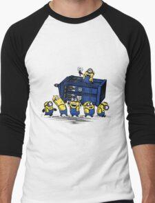 Minions Invented Tardis Men's Baseball ¾ T-Shirt