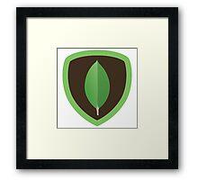 MongoDB Framed Print