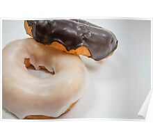Iced Doughnuts Poster
