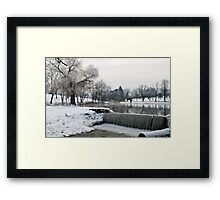 Wintry Day In January 2014 Framed Print