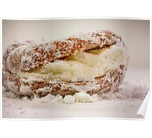 Cream Filled Doughnut Poster