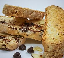 Chocolate and Almond Biscotti by Tara Brandau