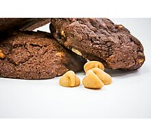 Chocolate Peanut Butter Chip Photographic Print