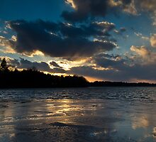 Last Sunset In 2013 by Tom Gotzy