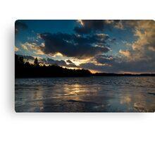 Last Sunset In 2013 Canvas Print