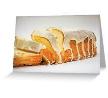 Lemon Pound Cake Greeting Card