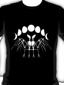Bat Skeleton - Dark - Moon Cycle T-Shirt