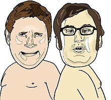 Tim and Eric by stephdrawsstuff