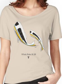 MBTA Whales Women's Relaxed Fit T-Shirt