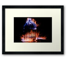 Forging The Cage 1 / 3 Framed Print