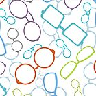 Colorful glasses pattern by oksancia