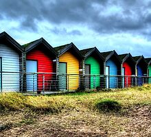 More Beach Huts by Andrew Pounder