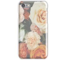 Calm flowers iPhone Case/Skin