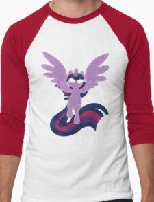 Princess Twilight Sparkle Shirt (My Little Pony: Friendship is Magic) Men's Baseball ¾ T-Shirt