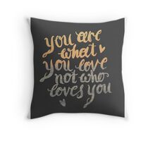 save rock and roll Throw Pillow