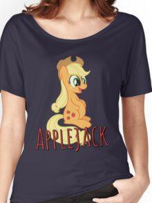 Applejack Shirt (My Little Pony: Friendship is Magic) Women's Relaxed Fit T-Shirt