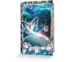 Cosmic Signs Greeting Card